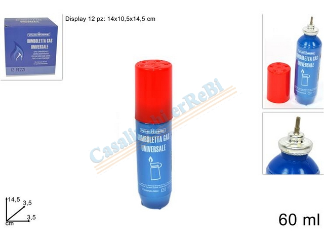 BOMBOLETTA GAS 60ML 074325