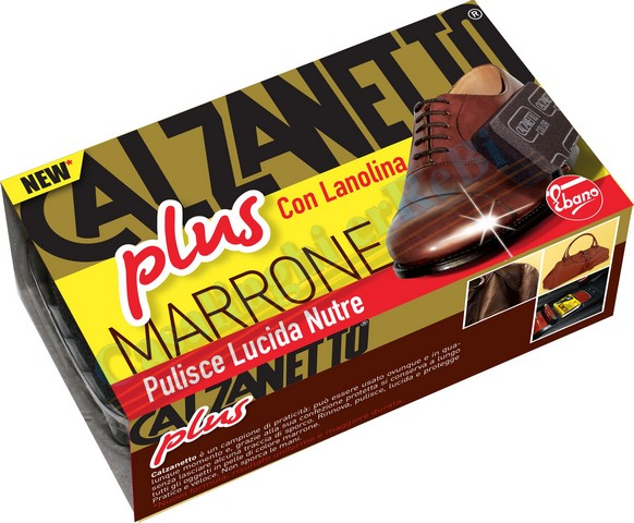 CALZANETTO PLUS MARRONE 1PM