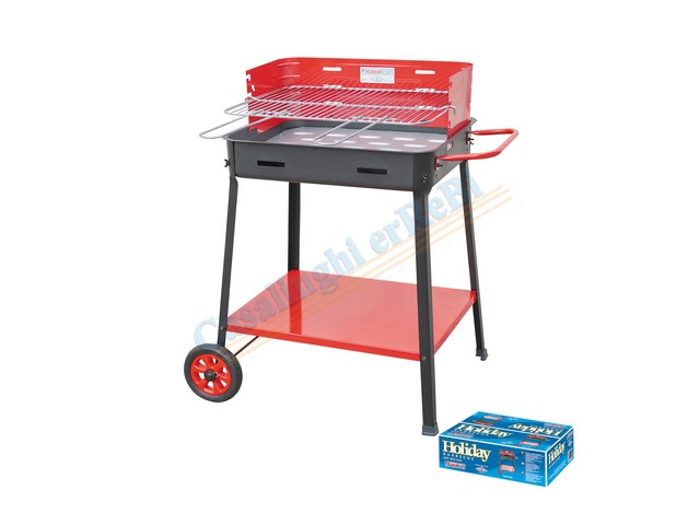 *BARBECUE ART.850 LUX HOLIDAY    CM.53X39XH80