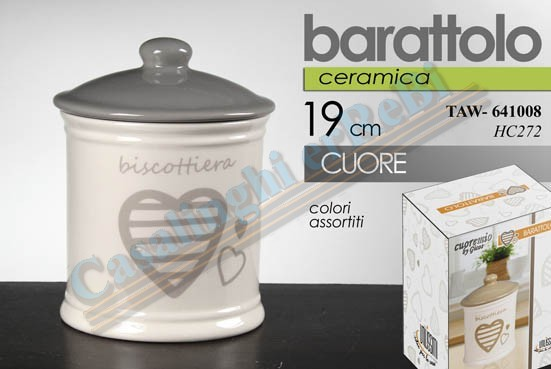 BISCOTTIERA CUORE ASS 641008