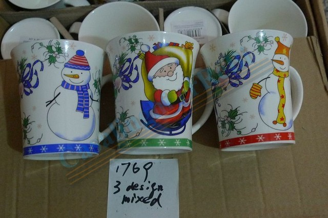 *TAZZA LATTE DEC. NATALIZIA AC-2527