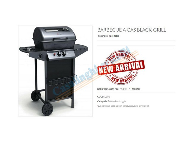 *BARBECUE GRILLED