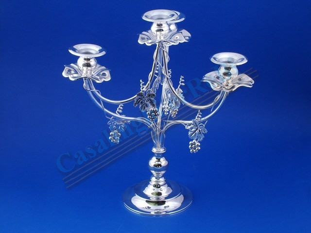 P/CANDELE SILVER 4 FIAMME H.36 22537
