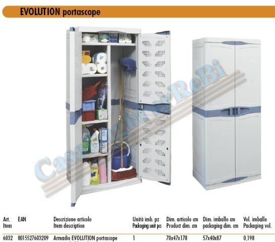 EVOLUTION MOBILE PORTASCOPE 6032    CM.70X47XH178
